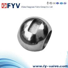 Bola flutuante para válvula de esfera / componente da válvula
