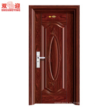 Diseño de la puerta de seguridad de acero único de China Factory Photos
