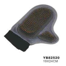 Cepillo de los guantes del animal doméstico para los perros (yb82520)