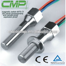 Interruptor de inducción magnética para usar con un interruptor magnético eléctrico de ambiente severo 12v