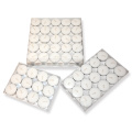Cheap 100pcs white Tea Light candles in plastic bag