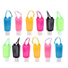Support de désinfectant pour les mains en silicone sans BPA