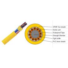 Cable de fibra óptica interior de 144 vías