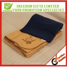 Cobertor de Fleece de viagem feito sob encomenda relativo à promoção
