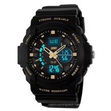 Hot plastic sport watch cheap digital watch for men