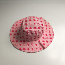 Full Star Print Cotton Floppy Hat
