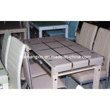 Alta qualidade novo Design luxo vidro mesa de jantar (CX-D-273)
