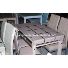 Высокое качество нового дизайна роскоши стеклянный обеденный стол (CX-D-273)