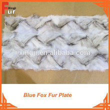 Front Paw Fox Fur Plate
