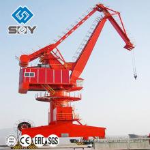 Port utilisant la grue télescopique de piédestal de 60 tonnes