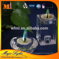 Magic Color Flame Candles in glass holder With High Quality Certificates