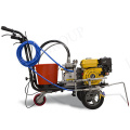 Double nozzles thermoplastic road marking machine FOR SALE