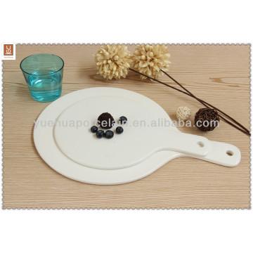 china wholesale 12'' pizza bulk ceramic plates