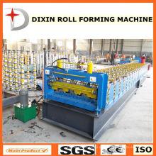 Vollautomatische verzinkte Blechboden Deck Kaltrollenformmaschine