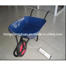 Proveedor de China de la carretilla de rueda de alta calidad con dos ruedas