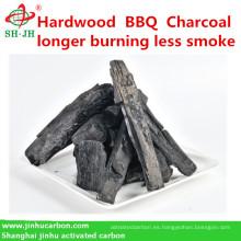 Madera dura, briquetas de bambú, rebanada, carbón de leña del palillo para el Bbq