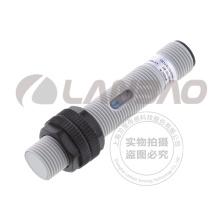 M12 Lanbao Interrupteur de capteur de proximité capacitif Non-Flush Sn4mm 10-30V DC Connecteur M12 à 3 fils Plastique CE UL