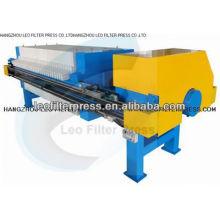 Prensa de filtro Leo Prensa de filtro de placa de filtro de 800 cámaras, sin apretar con membrana