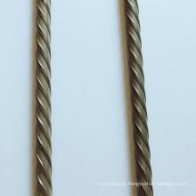 Fio de aço de concreto protendido de alto carbono 4,8 mm 7 mm