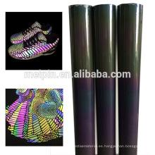 Material de los zapatos Azul / astilla / Rainbow TPU reflectante