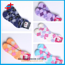 Children Microfiber Polyester Socks With Terry Toweling/Microfiber Socks China /Custom Made Towel Socks
