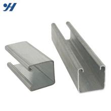 Bonnes dimensions de canal en acier doux de bonne réputation, canal en acier laminé à froid