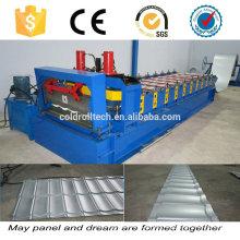 Stahl verglaste Dachziegel Profiliermaschine
