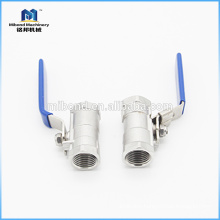 International Agent Food grade high pressure steel ball valve