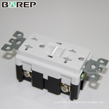 Tomada elétrica universal personalizada do interruptor do receptáculo GFCI da parede
