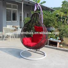 Nouveau jardin rotin chaise d'oscillation