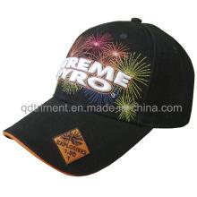 Gorra de béisbol de calidad superior del deporte del ocio del bordado de los fuegos artificiales (TMB00655-1)