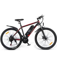 Luvgogo EU Warehouse 21-Speed E Bike Foldable Big Wheels Full Suspension Long Range 250w 500w Mountain Bike Electric City Bike