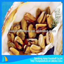 New packing method vacuum packed mussel meat