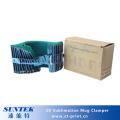 11oz Silikon 3D Sublimation Becher Wrap Klemme