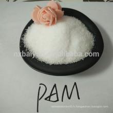 PAM / Chine fabrique des liants d'impression de poudre de polyacrylamide anionique / textile