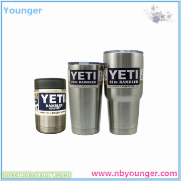 Hot Sale Colster Stainless Steel 12oz Yeti Cups/Rambler Tumbler 330 Oz /20oz Yeti Cup