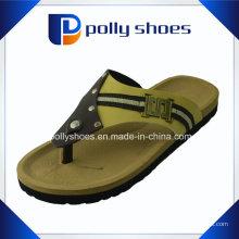 Sandales de plage d'été de flip de mens pour hommes tongs en daim