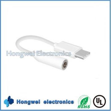 PVC männlich USB zu 3.5mm Audio Jack Adapter USB Kabel für iPhone7 / 6/5