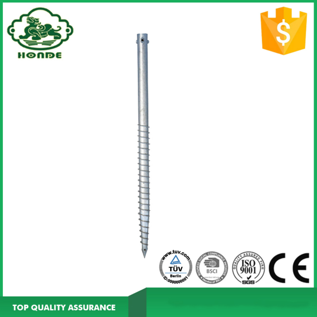 Hot Galvanized Ground Screw Anchor