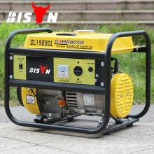 BISON (CHINA) Generador portátil a mano Gasolina 154F 1Kw Generador