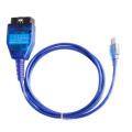 VAG Kkl USB con Cable de diagnostico Fiatecuscan Obdii