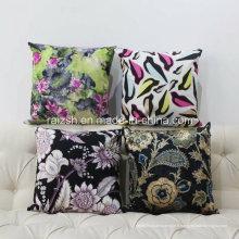 L'oreiller imprimant des cadeaux adaptés aux besoins du client de luxe de coussin de peluche de haute qualité