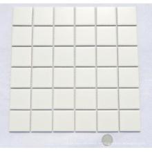48by48 Mosaïque en céramique blanche