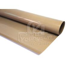 Tejido recubierto de PTFE de alto brillo para la industria.