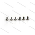 Customized CNC M2 M3 Black Titanium button screw