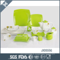 Stilvolle Design keramischen konkurrenzfähigen Preis unzerbrechlichen Olivengarten Geschirr
