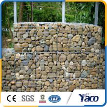 Galvanisierter Maschendraht für Zaun mit Steinen, Gobionkasten
