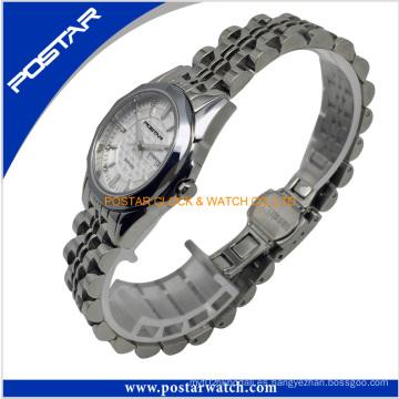 Relojes de pulsera populares de los relojes de acero inoxidable de 2016 hombres populares