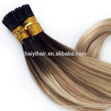 100 Cheap Remy I Tip Cheveux Extension Grossistes Distributions disponibles