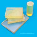 Folha amarela transparente do plutônio da espessura 1-120mm para embalar